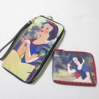 Disney - 白雪姫 長財布 コインケース セット J873