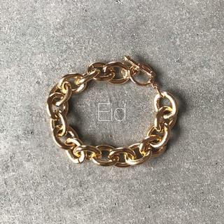 フィリップオーディベール(Philippe Audibert)のPlane chain gold bracelet No.100(ブレスレット/バングル)