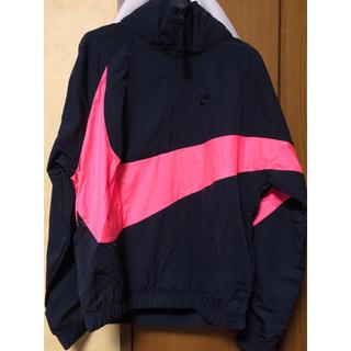 NIKE - NIKE アノラックJK ビッグスウォッシュ ピンク