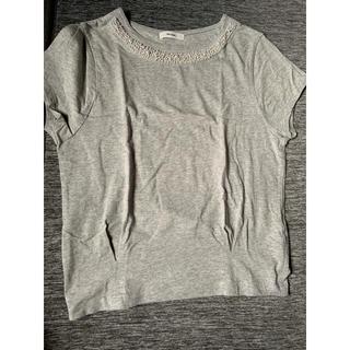 ニコアンド(niko and...)のNiko and… パールTシャツ(Tシャツ(半袖/袖なし))