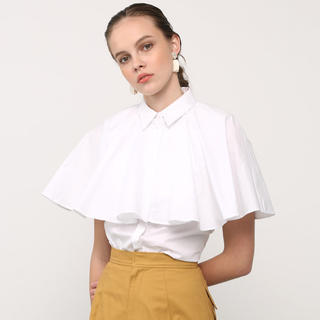 ENFOLD - 今期完売❤️EBLOA ケープライクシャツ