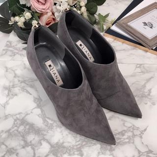 ダイアナ(DIANA)の新品❤️ダイアナ バックファスナー ブーティ ショートブーツ 22(ブーツ)