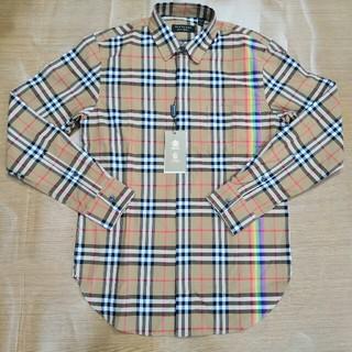 BURBERRY - 定番 Burberry シャツ 長袖 新品 虹 タグ付き 売り上げ