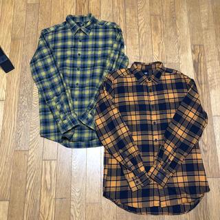 UNIQLO ユニクロ フランネルチェックシャツ 2枚セット