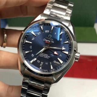 オメガ(OMEGA)のOMEGA オメガシーマスター メンズ 自動巻 オートマチック 男性 腕時計(腕時計(アナログ))
