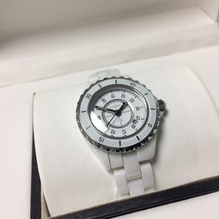 CHANEL - 超人気 レディース メンズ ホワイト 腕時計