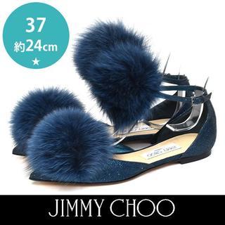 ジミーチュウ(JIMMY CHOO)の新品❤️ジミーチュウ 定価約12万 DOLLY グリッター パンプス 37約24(ハイヒール/パンプス)