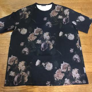 ラッドミュージシャン ビッグtシャツ ローズ 花柄