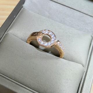 BVLGARI - 超美品Bvlgari 指輪(リング) Au750 ピンクゴールド 人気