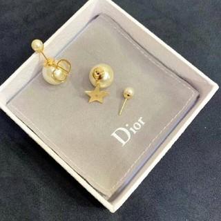 ディオール(Dior)の超美品DIOR デイオールピアス レディース(ピアス)