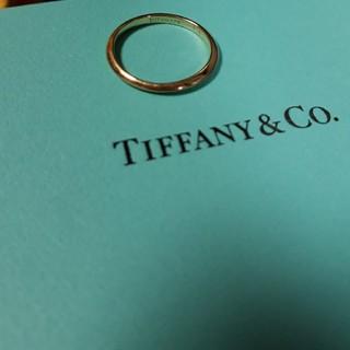Tiffany & Co. - ティファニー ナイフエッジ バンドリング K18