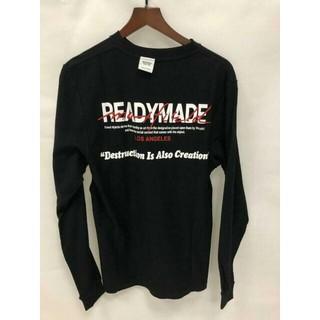 フィアオブゴッド(FEAR OF GOD)のReadymade x Maxfieldブラック長袖Tシャツ メンズM(Tシャツ/カットソー(七分/長袖))
