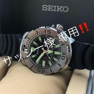 セイコー(SEIKO)のSEIKO SKX779 ブラックモンスター(腕時計(アナログ))