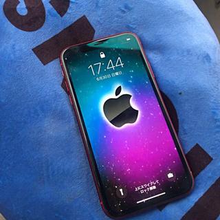 Apple - iPhoneXR バックパネル割れあり 修理保証付き