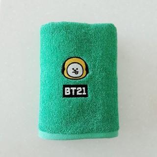 ボウダンショウネンダン(防弾少年団(BTS))のBT21 CHIMMY アルファベット タオル(タオル/バス用品)