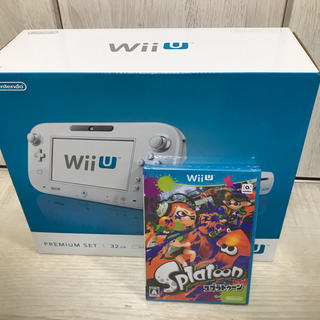 ウィーユー(Wii U)のwii uプレミアムセット スプラトゥーン 新品未使用品(家庭用ゲーム本体)