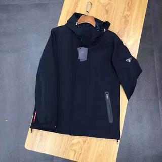 PRADA - 新品未使用:プラダ 黒色 ジャケット