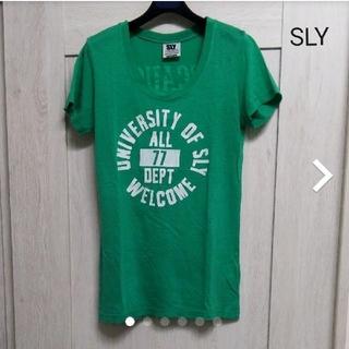 スライ(SLY)の【SLY】プリントTシャツ(Tシャツ(半袖/袖なし))