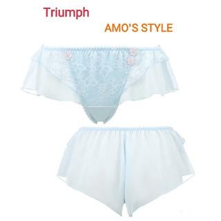 Triumph - Triumph AMO'S STYLE フレアショーツ M ブルー定価3024円