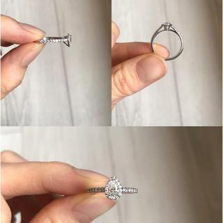 ティファニー(Tiffany & Co.)のTiffany&Co.(ティファニー) ソレスト ペアシェイプ ダイヤリング (リング(指輪))
