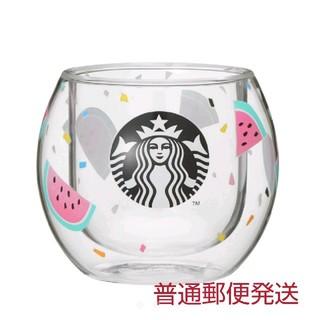 Starbucks Coffee - スタバ   スイカ   ダブルウォールグラス