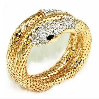 新品◆ヘビのバングル ゴールド(ブレスレット/バングル)