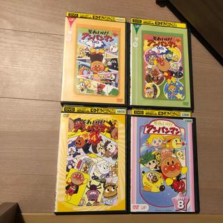 それいけ!アンパンマン DVD 4枚セット