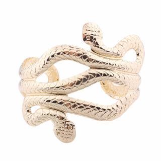 新品ヘビのアームブレスレット① ゴールド(ブレスレット/バングル)