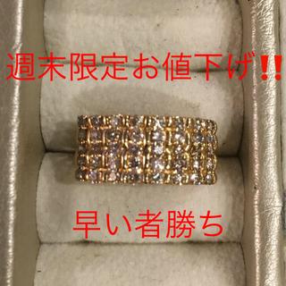 K18  ダイアモンドリング(リング(指輪))