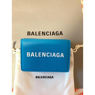 バレンシアガ(Balenciaga)のバレンシアガ ミニウォレット 各1点のみ ブルー(折り財布)