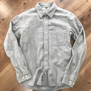 ムジルシリョウヒン(MUJI (無印良品))の無印良品 muji シャツ ネルシャツ グレー(シャツ)