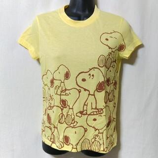 スヌーピー(SNOOPY)のMighty Fine スヌーピー Tシャツ M 未使用品 peanuts(Tシャツ(半袖/袖なし))