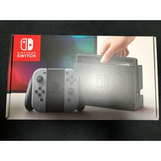 ニンテンドースイッチ(Nintendo Switch)の新品 ニンテンドースイッチ Switch ジョイコン Joy-Con グレー(家庭用ゲーム本体)