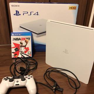 プレイステーション4(PlayStation4)のPS4 グレイシャーホワイト500GB(家庭用ゲーム本体)