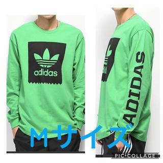 Adidas ロゴ ロングTシャツ M