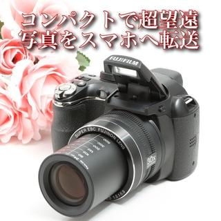 富士フイルム - コンパクトで光学30倍ズーム^_^写真をスマホへ転送★ファインピクス S4500