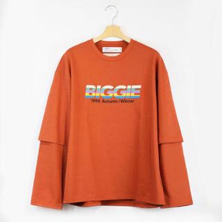 ジエダ(Jieda)のDAIRIKU BIGGIE Layered T-Shirt(Tシャツ/カットソー(七分/長袖))