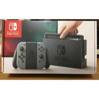 ニンテンドースイッチ(Nintendo Switch)のSwitch 本体 グレー(家庭用ゲーム本体)