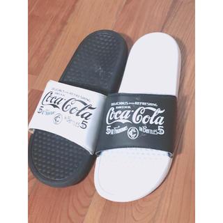 コカ・コーラ - サンダル(コカコーラデザイン)