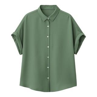 GU - gu エアリーシャツ Lサイズ