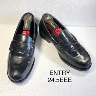 【ENTRY】エントリーメンズ ペニーローファー 24.5cmEEE(ドレス/ビジネス)