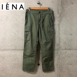 イエナ(IENA)の【IENA】バックサテン ミリタリーカーゴパンツ 36(ワークパンツ/カーゴパンツ)
