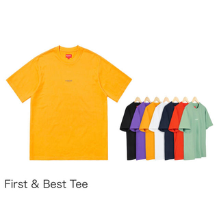 Supreme - Supreme First&Best Tee シュプリーム Tシャツ