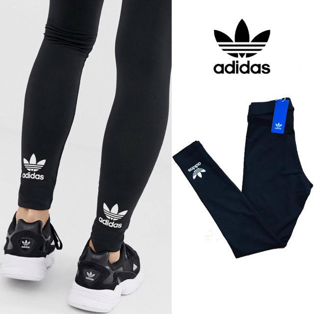 adidas(アディダス)の【大人気】adidas originals トレフォイル レギンス新品 レディースのレッグウェア(レギンス/スパッツ)の商品写真