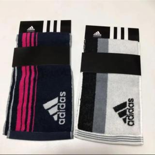 adidas - 送無 アディダス タオル スリムロングタオル スポーツタオル 2枚セット
