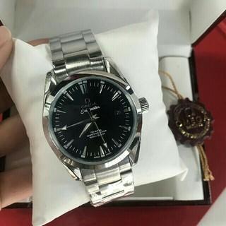 オメガ(OMEGA)のOMEGA 新品 オメガ メンズ 腕時計 自動巻き(腕時計(アナログ))