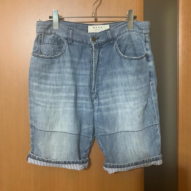 Marni(マルニ)の人気『MARNI』デニムショーツ マルニ メンズのパンツ(ショートパンツ)の商品写真