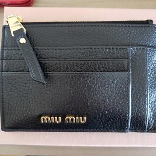 miumiu - ミュウミュウ miu miu カードケース お財布