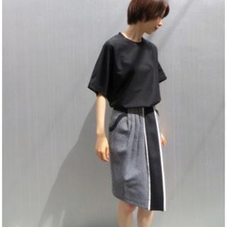 マメ(mame)の【mame】2014awジャガードタイトスカート(ひざ丈スカート)