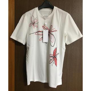Maison Martin Margiela - 46新品58%off マルジェラ フラワープリント Tシャツ 18SS